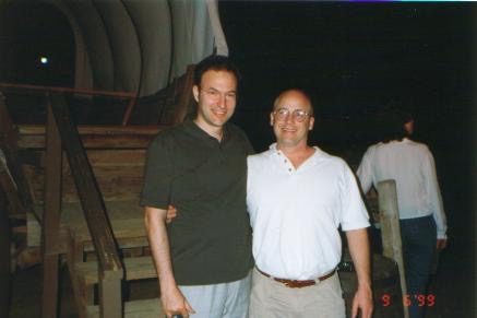 1999 Phoenix con il dr Howard Farran