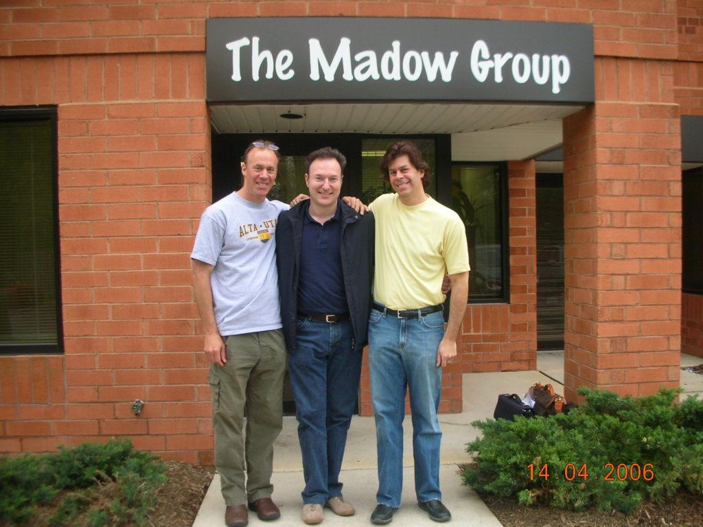 2006 Philadelphia con i fratelli dr Rich e dr Dave Madow