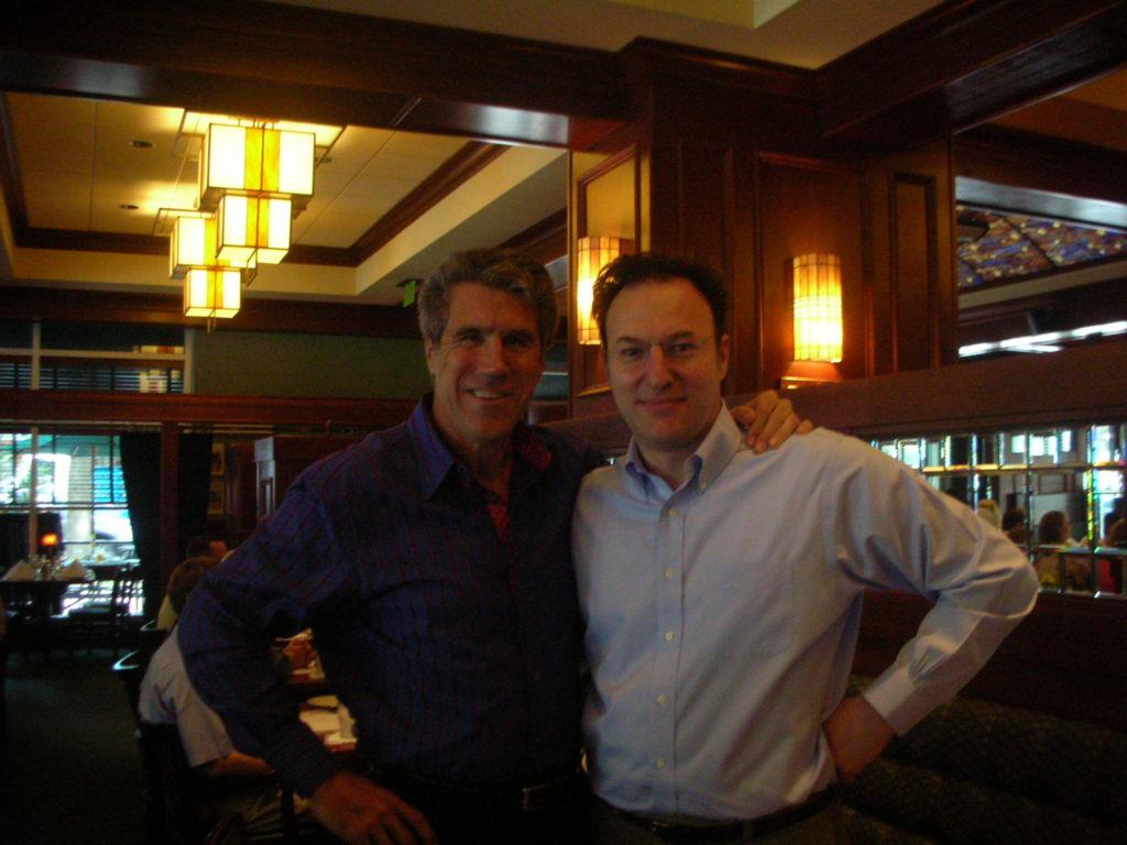 2006 Charlotte con il dr Paul Homoly