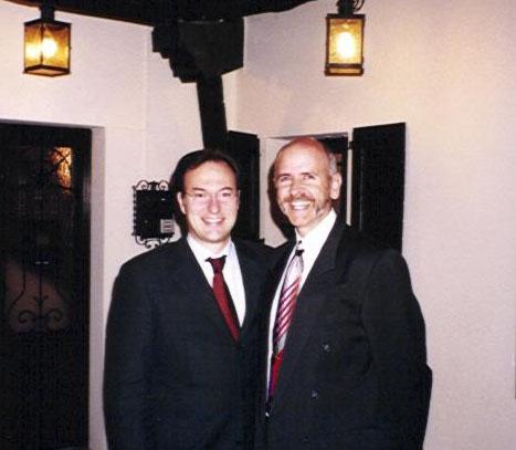 2002 – Udine con dr. Tom Orent