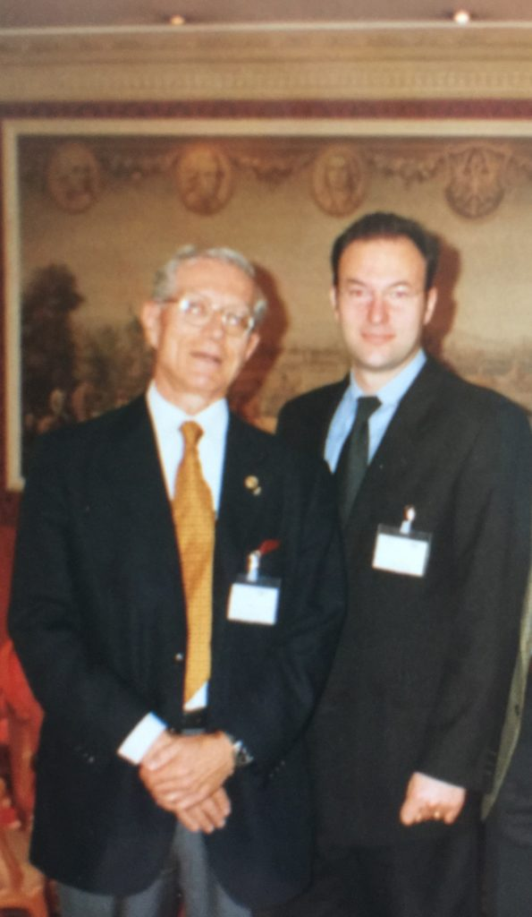 1999 Salisburgo con il prof. Carlo Guastamacchia